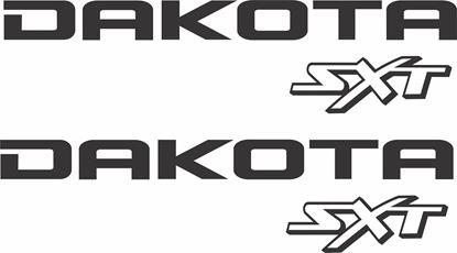 Picture of Dodge Dakota 5.9 SXT Decals / Stickers