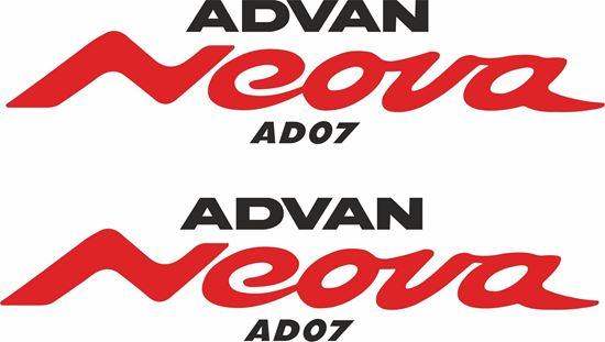 "Picture of ""Advan Neova ""Decals / Stickers"