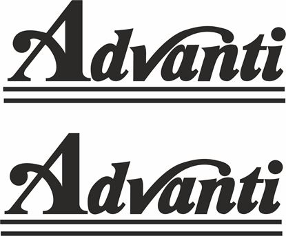"Picture of ""Advanti""Decals / Stickers"