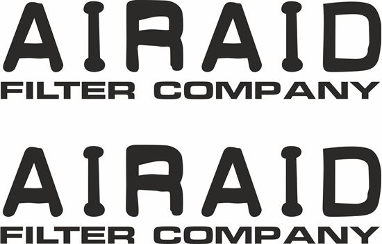 "Picture of ""Airaid"" Decals / Stickers"