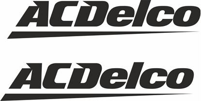 "Picture of ""AC Delco""Decals / Stickers"