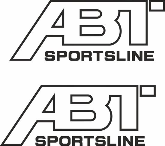 "Picture of ""ABT Sportsline""Decals / Stickers"
