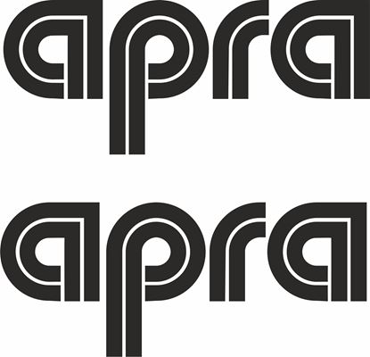 "Picture of ""Apra""Decals / Stickers"