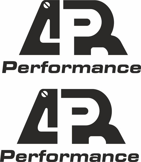 """Picture of """"APR Performance""""Decals / Stickers"""