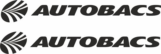 """Picture of """"Autobacs""""  Decals / Stickers"""