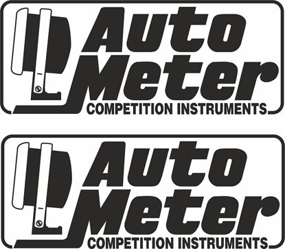 """Picture of """"Auto Meter"""" Decals / Stickers"""