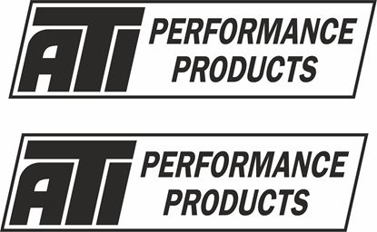 """Picture of """"ATI Performance Products"""" Decals / Stickers"""