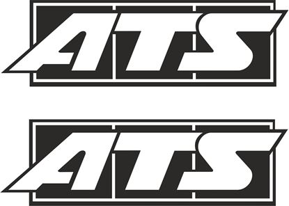 """Picture of """"ATS"""" Decals / Stickers"""