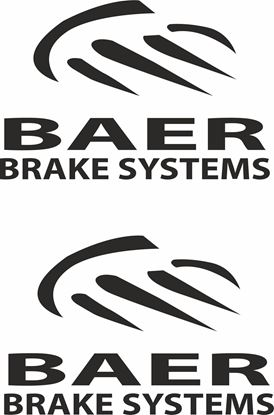 """Picture of """"Baer Brake Systems""""Decals / Stickers"""