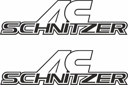 "Picture of ""AC Schnitzer"" Decals / Stickers"