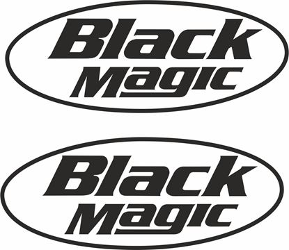 """Picture of """"Black Magic""""  Decals / Stickers"""