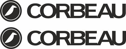 """Picture of """"Corbeau"""" Decals / Stickers"""