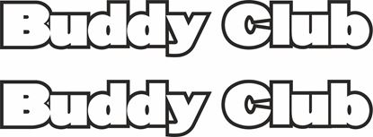 Picture of Buddy Club Decals / Stickers