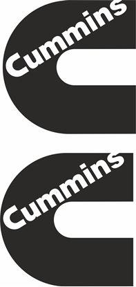 "Picture of ""Cummins"" Decals / Stickers"