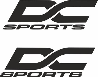 """Picture of """"DC Sports"""" Decals / Stickers"""