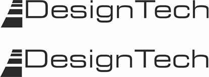 """Picture of """"Design Tech""""  Decals / Stickers"""