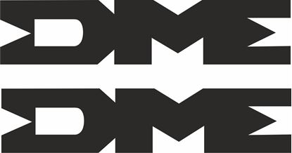 """Picture of """"DME""""  Decals / Stickers"""