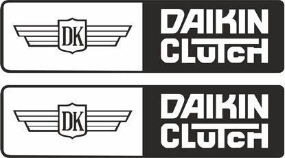 "Picture of ""Daikin Clutch  Decals / Stickers"