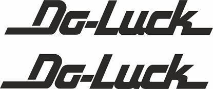 """Picture of """"Do-Luck"""" Decals / Stickers"""