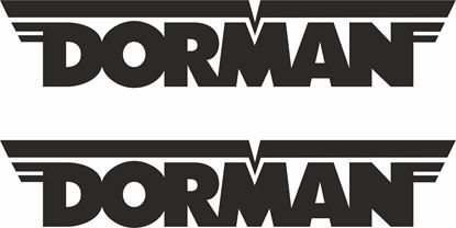 """Picture of """"Dorman"""" Decals / Stickers"""