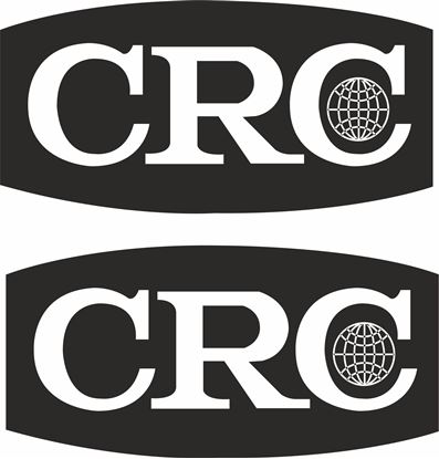 """Picture of """"CRC"""" Decals / Stickers"""