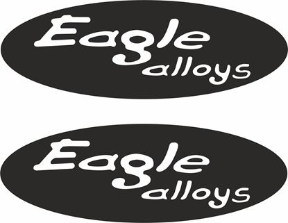 """Picture of """"Eagle alloys"""" Decals / Stickers"""