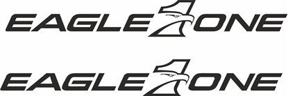 """Picture of """"Eagle One"""" Decals / Stickers"""