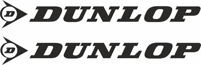 """Picture of """"Dunlop"""" Decals / Stickers"""