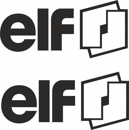 "Picture of ""Elf"" Decals / Stickers"