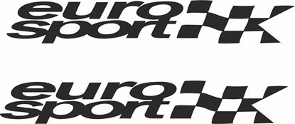 """Picture of """"Euro Sport"""" Decals / Stickers"""