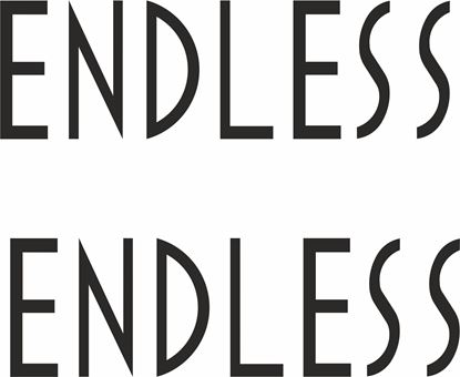 """Picture of """"Endless"""" Decals / Stickers"""