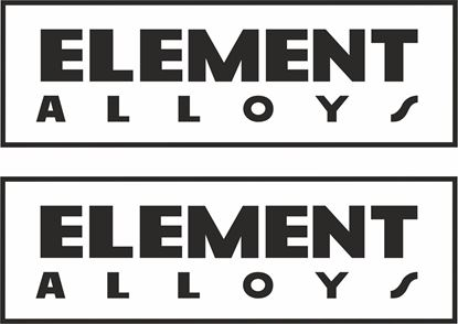 """Picture of """"Element Alloys"""" Decals / Stickers"""