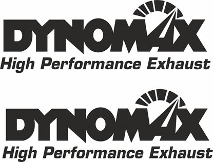 """Picture of """"Dynomax..."""" Decals / Stickers"""