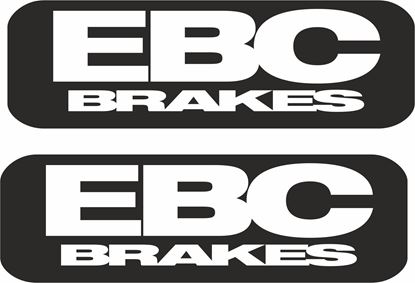 """Picture of """"EBC Brakes """" Decals / Stickers"""