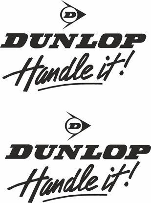 "Picture of ""Dunlop Handel it!"" Decals / Stickers"