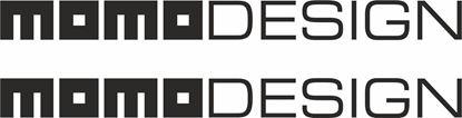 "Picture of ""Momo Design""  Decals / Stickers"