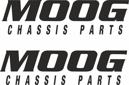 """Picture of """"Moog Chassis Parts""""  Decals / Stickers"""