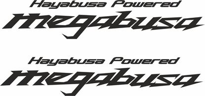 "Picture of Westfield ""Hayabusa Powered Megabusa""  Decals / Stickers"