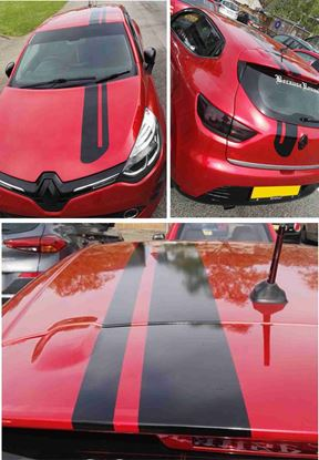 Picture of Renault Clio / Twingo  OTT   Stripes / Stickers