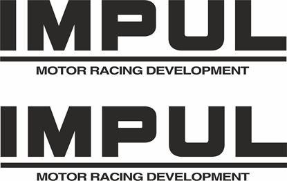 "Picture of ""Impul Motor Racing Development"""" Decals / Stickers"
