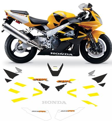 Picture of Honda CBR 929RR US 2000 - 2001 replacement Decals / Stickers