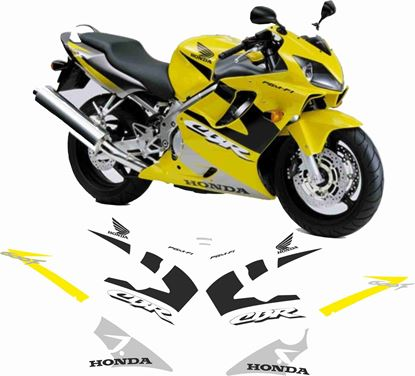 Picture of Honda CBR 600F 2001 - 2003  Replacement Decals / Stickers