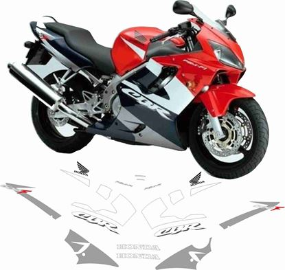 Picture of Honda CBR 600F 2002 Replacement Decals / Stickers