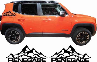 Picture of Jeep Renegade Side quarter Decals / Stickers