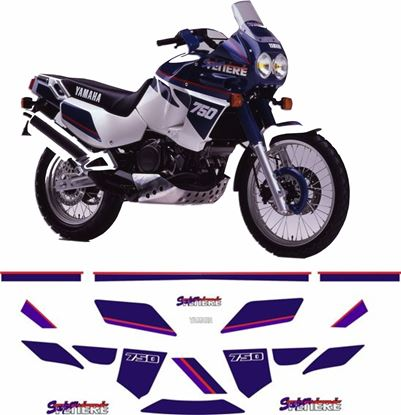 Picture of Yamaha XT750 Super Tenere 1997  Replacement Decals / Stickers