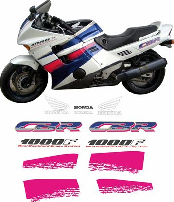 Picture of Honda CBR 1000F 1993 replacement Decals / Stickers