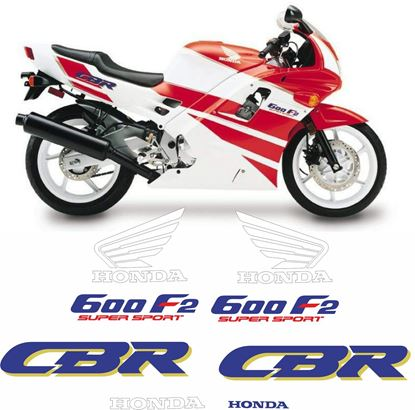Picture of Honda CBR 600 F2 1992 - 1993 replacement Graphics / Stickers