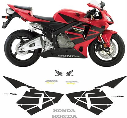 Picture of Honda CBR 600RR 2004 - 2006 Replacement Decals / Stickers