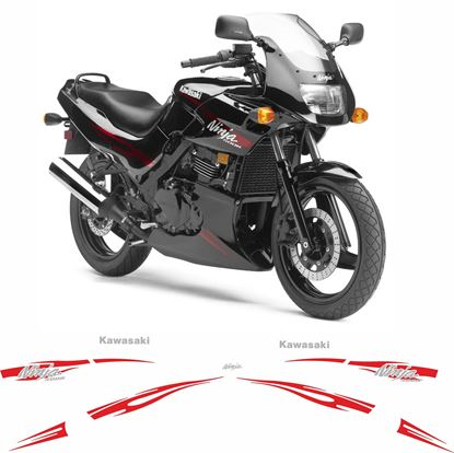Picture of Kawasaki GPZ 500R Ninja 2008 - 2009 replacement Decals / Stickers
