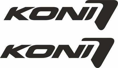 """Picture of """"Koni"""" Decals / Stickers"""